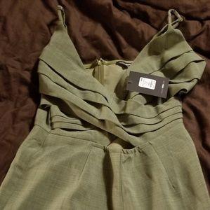 Fashion nova olive romper